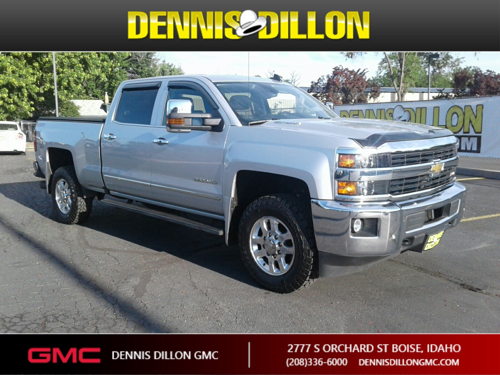 Pre-Owned 2015 Chevrolet Silverado 3500HD Built After Aug 14 LTZ