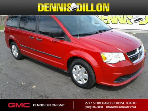 Pre-Owned 2013 Dodge Grand Caravan American Value Pkg